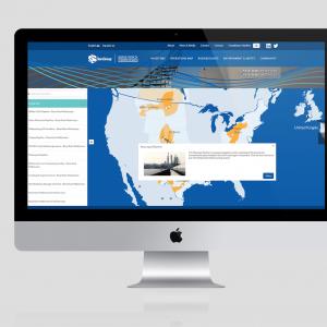 Interactive Map – website