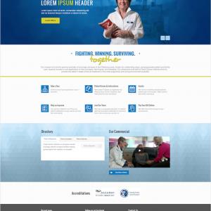 Tulsa Cancer Institute Website Design