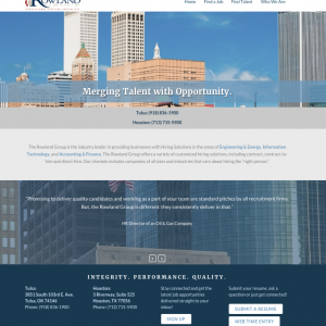 The Rowland Group website