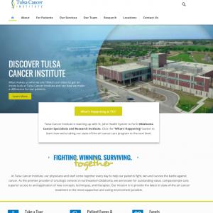 Tulsa Cancer Institute website