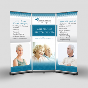 Senior Health Tradeshow Graphics