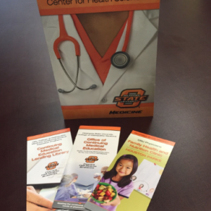 OSU Health Sciences brochures