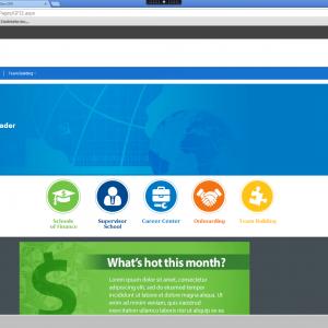 Sharepoint website design