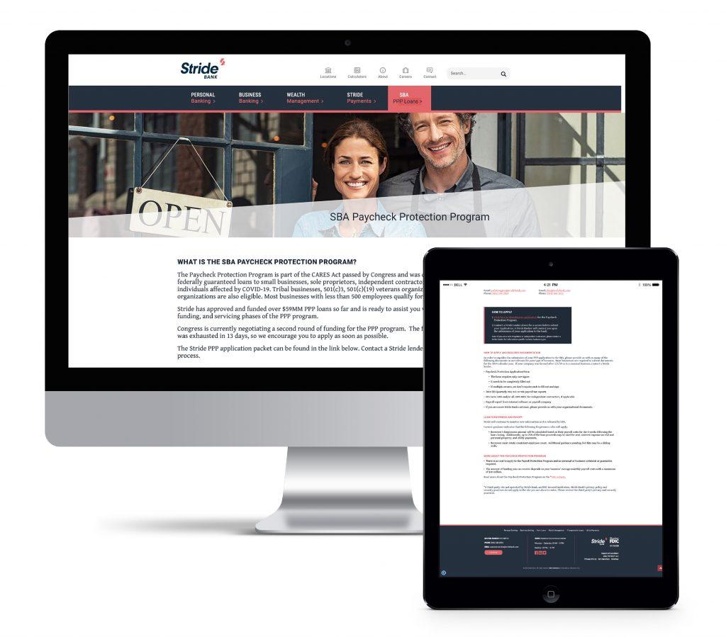 Stride Website
